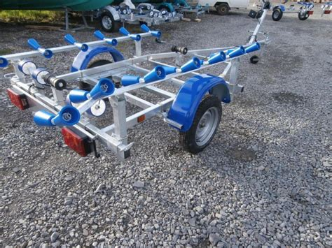 inflatable boat trailer winch inflatable boat trailer leroni trailers