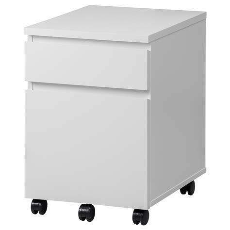 Ikea Drawer Unit Malm Drawer Unit On Castors White 42x59 Cm Ikea