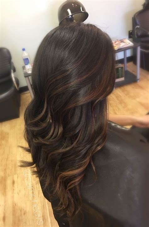 hair highlights for the spring with dark hair the 25 best lowlights for black hair ideas on pinterest