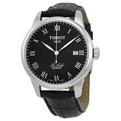 tissot t classic le locle automatic leather s