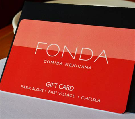 List Of Opentable Gift Card Restaurants - fonda gift cards