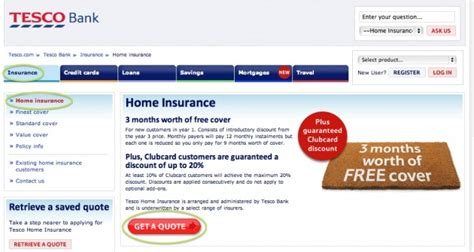 tesco house insurance promo code tesco home insurance promotion codes vouchers 3
