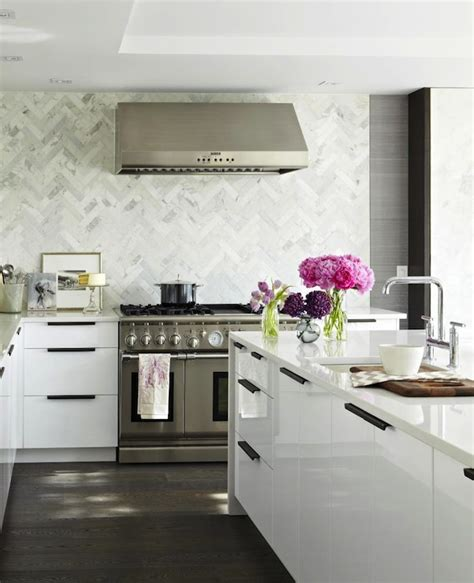 marble herringbone backsplash marble herringbone kitchen backsplash design ideas