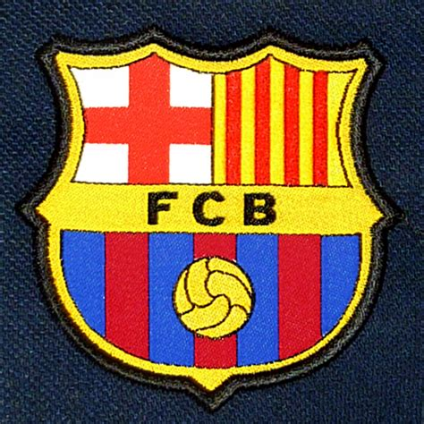 barcelona official fc barcelona official football gift mens crest polo shirt
