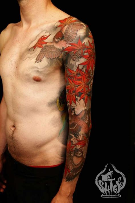 3 4 tattoo sleeve 27 best shige images on japan