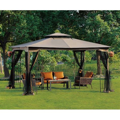 Patio Gazebos And Canopies Unique Patio Gazebos And Canopies 1 Patio Canopy Gazebo With Netting Bloggerluv