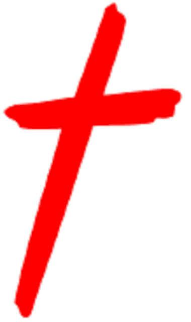 Black And Red Christian Cross | a christian community website and a blog a wordpress