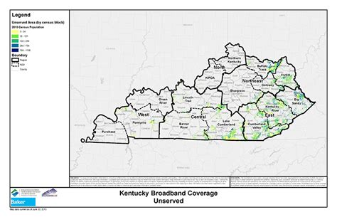 kentucky broadband map maps kentucky wired