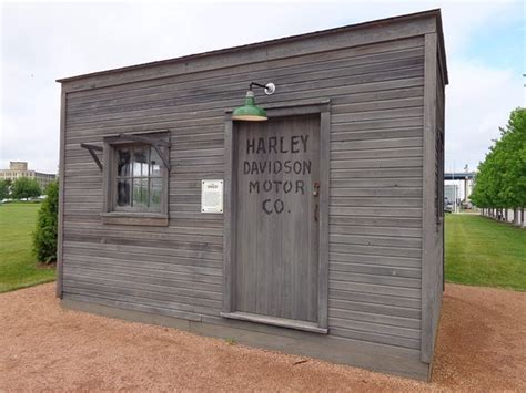 the shed picture of harley davidson museum milwaukee