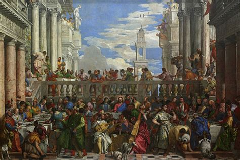 Wedding At Cana Resources by Factum Arte Greenaway On Veronese 180 S Wedding At Cana