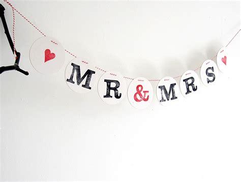 Girlande Hochzeit by Mr Mrs Girlande Zur Hochzeit Renna Deluxe