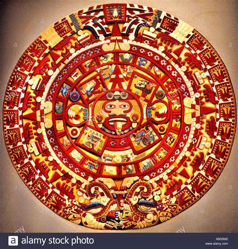 Sun Calendar Aztec Of The Sun Calendar Mayan Mexico Museum