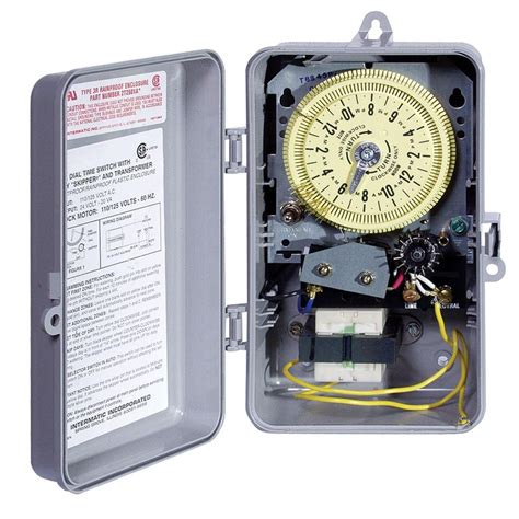 home light timer system t8800 series 125 volt input with 24 volt output indoor