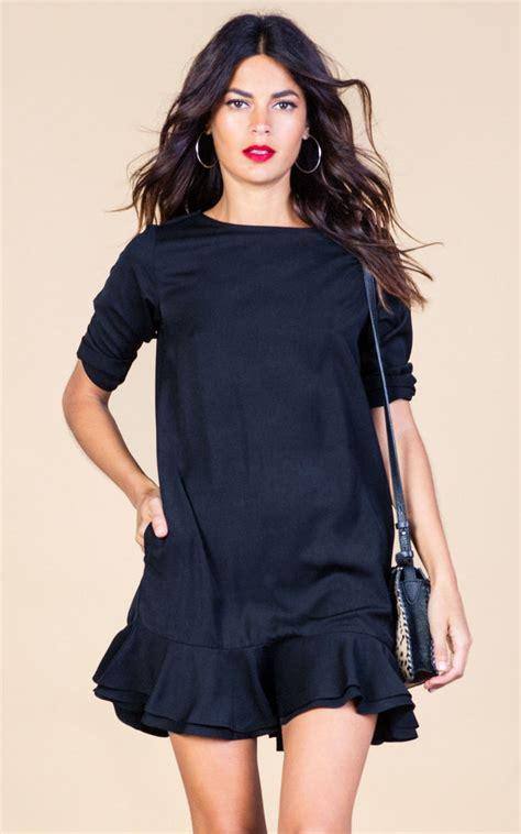 Rene Dress In Black renee dress in black silkfred
