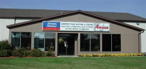 comfort first heating and air company info