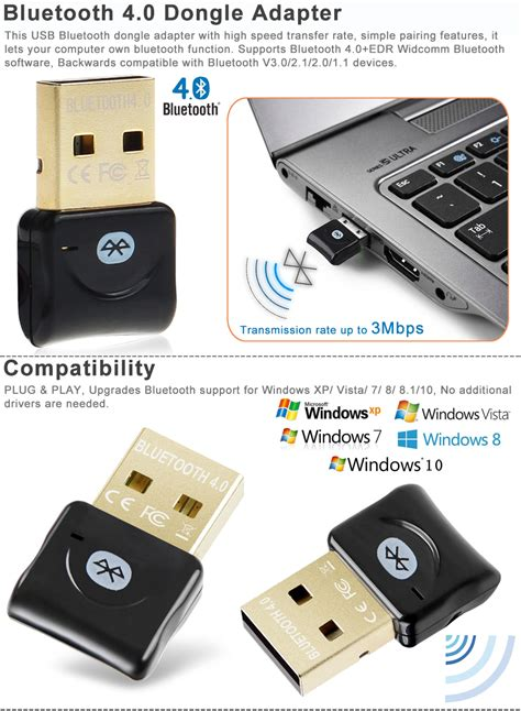 Usb Bluetooth Laptop bluetooth 4 0 usb 2 0 csr4 0 dongle adapter for pc laptop