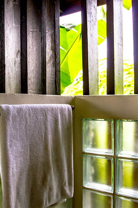 open air shower the river resort
