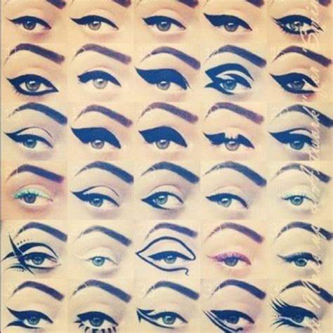 7 Gorgeous Ways To Wear Eye Shadow by 30 Ways To Wear Eyeliner 29 Wickedly Beautiful Ways To Wear