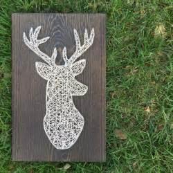 Deer String - made to order string deer sign by