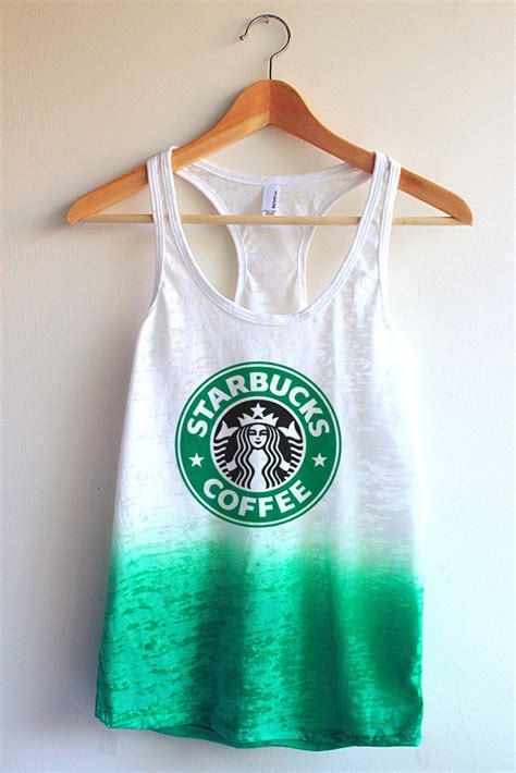 Tangtop Starbuck starbucks tie dye tank top from yotta kilo epic wishlist