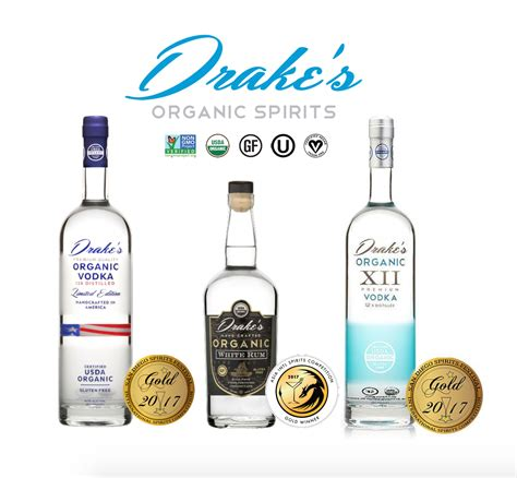 drake vegan drake s organic spirits receives global vegan certification