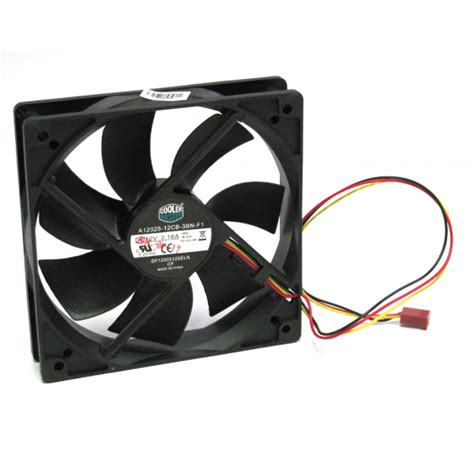 New Coolermaster 120mm Silent Case Fan Oem Ebay
