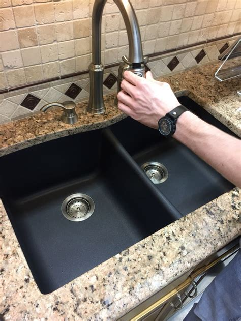 how to clean a black composite sink best way to clean granite composite sink how should i