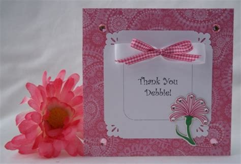 Ideas For Handmade Thank You Cards - thank you card and other handmade card ideas