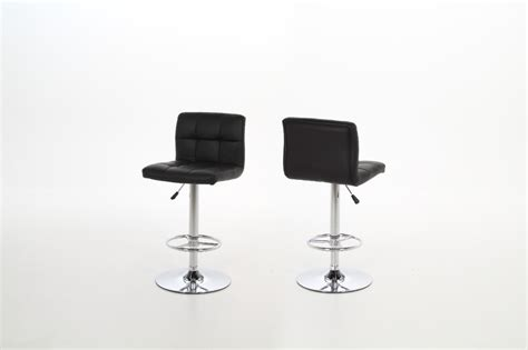 black bar stool with gas lift quality actona