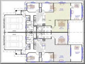 Floor Plans For Duplexes by Miscellaneous Duplex Floor Plans Design Interior