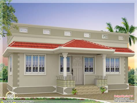 kerala model single floor house plans