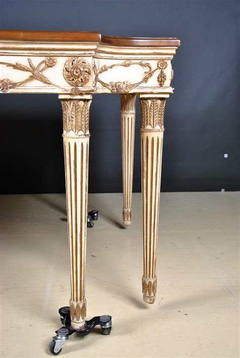 e j victor used newport 8 leg walnut dining table - Newport Dining Table