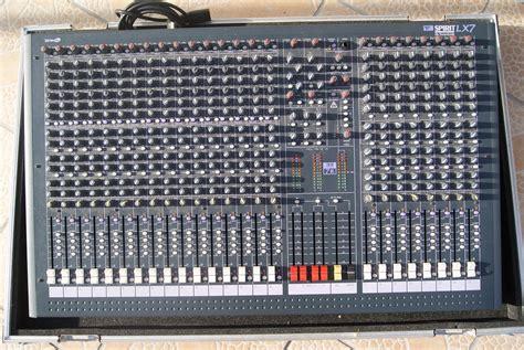 Mixer Soundcraft Spirit Lx7 24 Cnl soundcraft spirit lx7 24 image 602123 audiofanzine