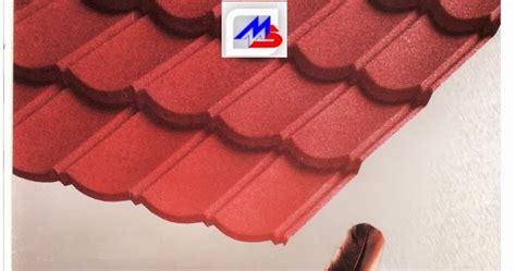 Multiroof Lapis Pasir genteng metal multi roof surya roof rainbow genteng