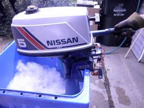 nissan 5 hp outboard motor
