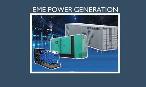 eme power generation sets eme engineering asia pacific