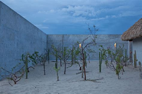designboom mexico tadao ando crafts concrete casa wabi foundation in mexico