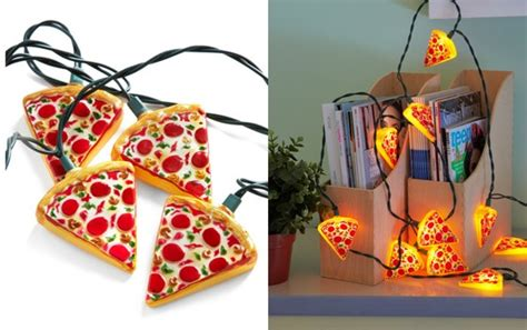 Pizza Lights by Glowing Out For Pizza String Lights