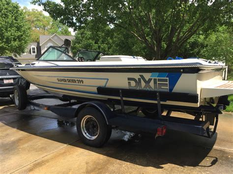 dixie boat works 21 dixie boat works super skier 299 1990 for sale for 6 500