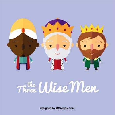 imagenes de reyes magos caricatura los tres reyes magos en estilo dibujos animados