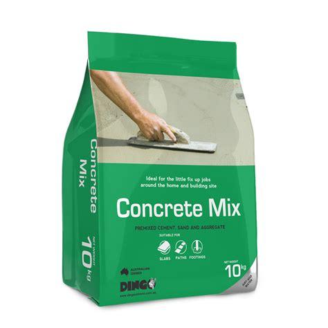 Concrete Countertop Mix Australia dingo 10kg concrete mix bunnings warehouse