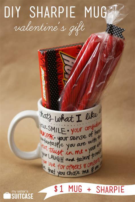 diy mens valentines day gifts diy sharpie mug gift my s suitcase