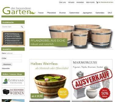 garten versandhandel natursteinobjekte versandhandel der besondere garten