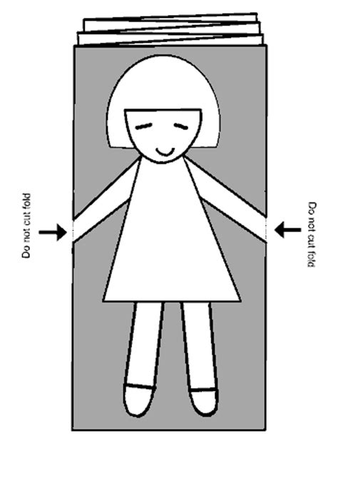 how to make a paper doll chain template free coloring pages of trojan story
