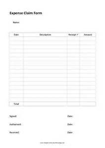 simple expenses claim form template expense claim form template hashdoc