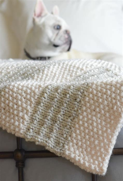 knitting patterns blanket easy heirloom knit blanket pattern in a stitch