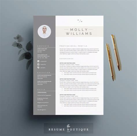 creative curriculum vitae template download 17 best images about resumes on pinterest resume design