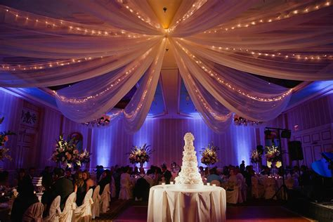 drape lights weddings wedding planning tip draping lighting the 530 bride