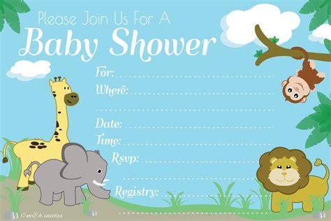 Cheap Safari Baby Shower Invitations by Safari Themed Baby Shower Invitations Images Baby Shower