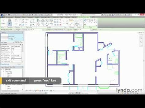 autocad floor plan tutorial autocad seven day tutorial day2 lesson5 first floor